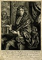 Sir Edmund King. Mezzotint by R. Williams, 1684, after Sir P Wellcome V0003218.jpg