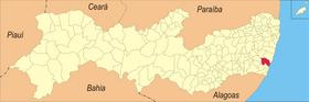 Localização de Sirinhaém