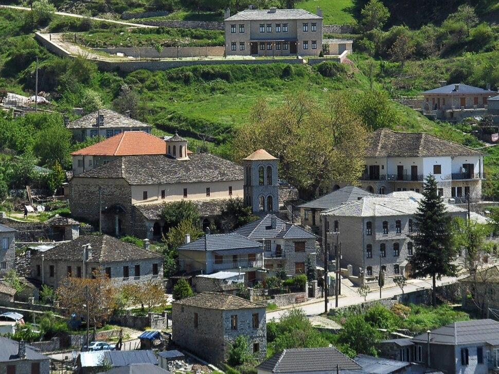 Skamneli village centre