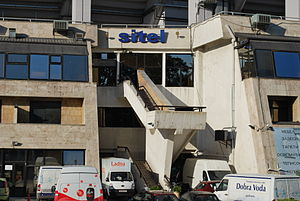 Sitel (TV channel) - The headquarters of Sitel in Skopje.