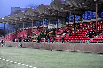 AFC Eskilstuna - AFC United previously played their home games at Skytteholms IP
