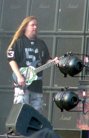 Jeff Hanneman of Slayer at Tuska-Festival