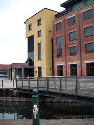 The National Centre for Craft & Design - Image: Sleafordhub 1