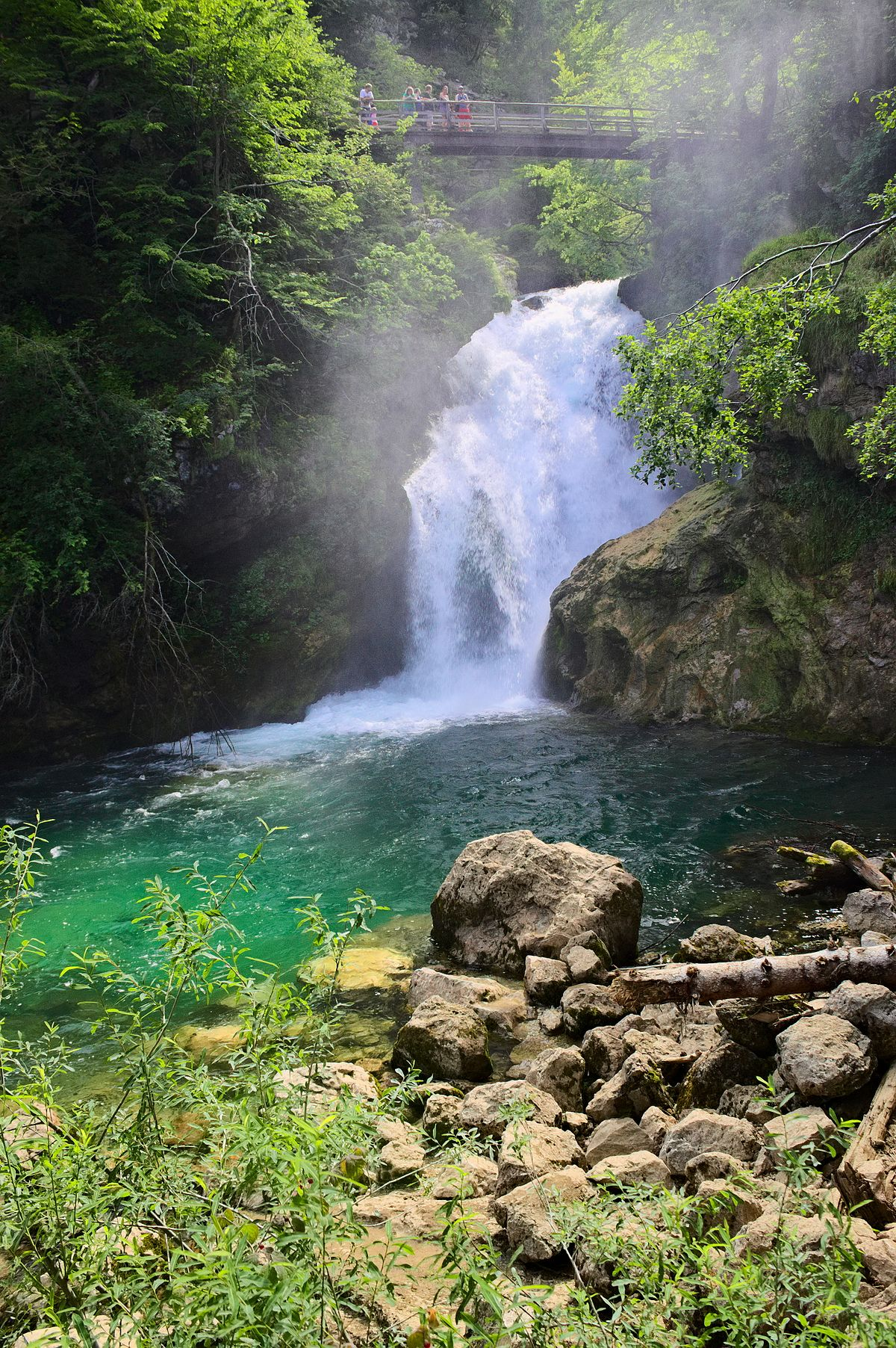 vintgar gorge wikipedia. Black Bedroom Furniture Sets. Home Design Ideas