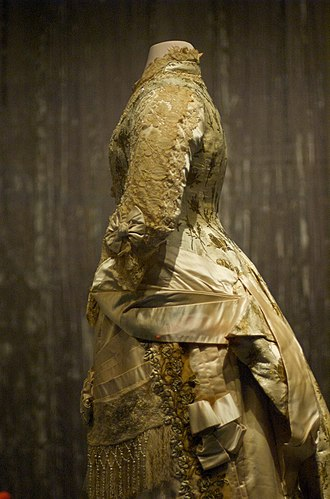Lucy Hayes - Lucy Hayes Reception Gown, Smithsonian National Museum of American History