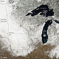 Snow across the Upper Midwest USA 2010-03-04.jpg