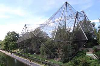 1964 in architecture - Snowdon Aviary, London Zoo