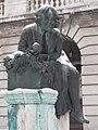 Snowy Tünde statue (1903). - Savoyai terrace, 2016 Budapest.jpg