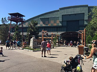 Soarin' - Image: Soarin Over California Updated Entrance July 17th 2015