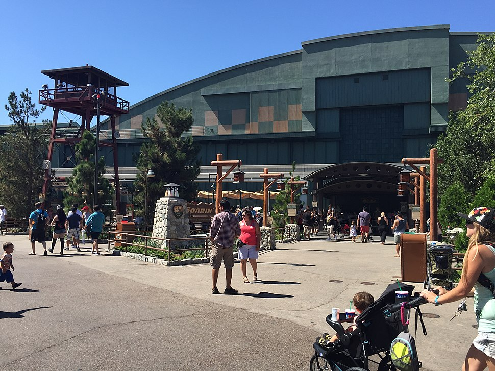 Soarin Over California Updated Entrance - July 17th 2015