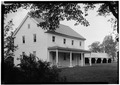 Society of Friends Meetinghouse, State Route 7, Quaker Street, Schenectady County, NY HABS NY,47-QUAK,1-2.tif
