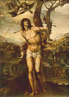 Saint Sebastian 3rd-century Christian saint and martyr
