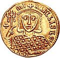 Solidus Michael III (reverse).jpg