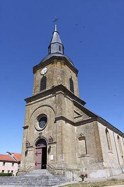 Sommauthe - l'Église Saint-Jean - Photo Francis Neuvens lesardennesvuesdusol.fotoloft.fr.JPG