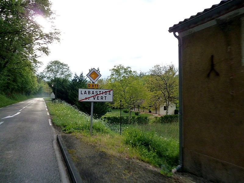 Sortie de Labastide-du-Vert