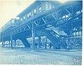 Southbound train at Northampton station, May 1908.jpg