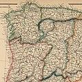 Spain and Portugal. 1869. Weller (detalle noroeste).jpg