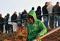Spectators watching Brazil national football team train at Dobsonville Stadium 2010-06-03 15.jpg