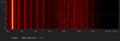 Spettrogramma sinusoide 880 Hz.png