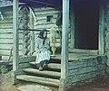 Spinning yarn. In the village of Izvedovo LOC 9631435668 (cropped).jpg