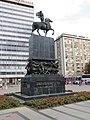 Spomenik oslobodiocima Niša u centru grada.JPG
