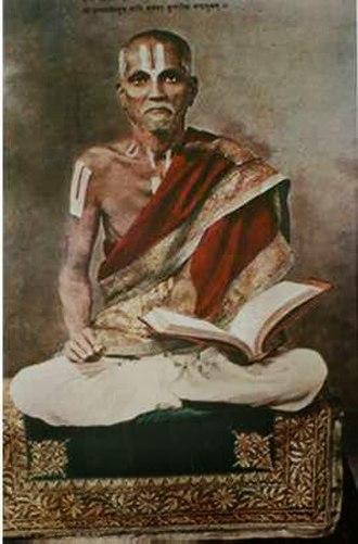 Sri Vaishnavism - Sri Kanchi Prativadibhayankar Jagadguru Anantacharya Gaddi Swamiji, the spiritual preceptor of Tridandi Swami Vishwaksenacharyaji