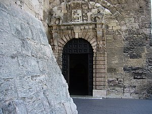 Abbey of Saint-Victor de Marseille - Entrance to abbey church