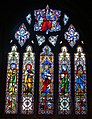 St. Bartholomew's church, Yealmpton - East window - geograph.org.uk - 1420121.jpg