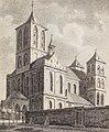 St. Cunibert, Johann Peter Weyer (Zeichnung) und Anton Wünsch (Lithografie), 1827 (from book).jpg