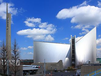 St. Mary's Cathedral, Tokyo - Image: St. Mary's Cathedral Tokyo 2012