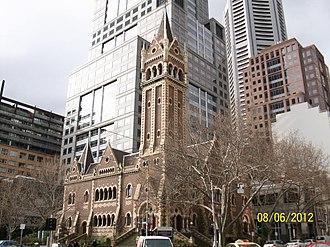 St Michael's Uniting Church, Melbourne - St Michael's Uniting Church, Melbourne