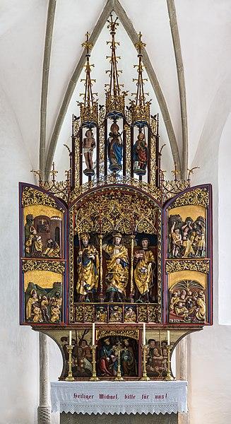File:St. Michael ob Rauchenödt Flügelaltar 01.jpg