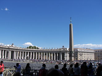 St. Peter's Square - St. Peter's Square obelisk