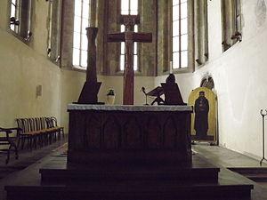 St. Wenceslas Church (Zderaz) - The altar.