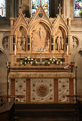 St. Alban's Church, Copenhagen - Image: St Albans Church Copenhagen altar