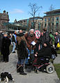 St Andrews Square, Protest March 30 2013 - 01.jpg