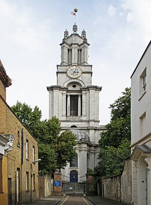 St Anne's Limehouse - Image: St Anne, Limehouse (36640179641)