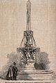 St Bartholomew's Hospital, London; the fountain in the centr Wellcome V0013013.jpg