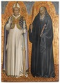 St Benedict and Bishop Donatus (Gherardo Starnina) - Nationalmuseum - 19738.tif