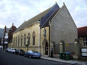 St. Joseph's Church, Southampton - Image: St Joseph's RC Church, Southampton geograph.org.uk 495140