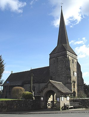 West Hoathly - Image: St Margaret's Church, West Hoathly (Io E Code 302844)