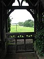St Mary's church - view through the lych gate - geograph.org.uk - 1401983.jpg