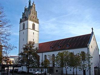 Friedrichshafen - Church of St. Nikolaus.
