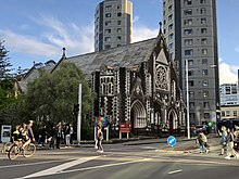 St Paul's Church on Symonds St, Sept 2018.jpg
