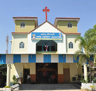 Saint Theresa Church, Perambur building in India