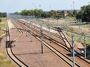 Rail transport in Poland - Electrified railway line in Poland
