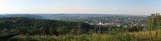 Hagen - Panoramic view of Hagen (taken from urban forest of Hagen)