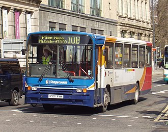 Alexander PS type - Alexander PS-type bodied Volvo B10M run by Stagecoach Merseyside.