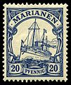Stamp Mariana Islands 1901 20pf.jpg