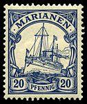 Stamp Mariana Islands 1901 20pf.jpg